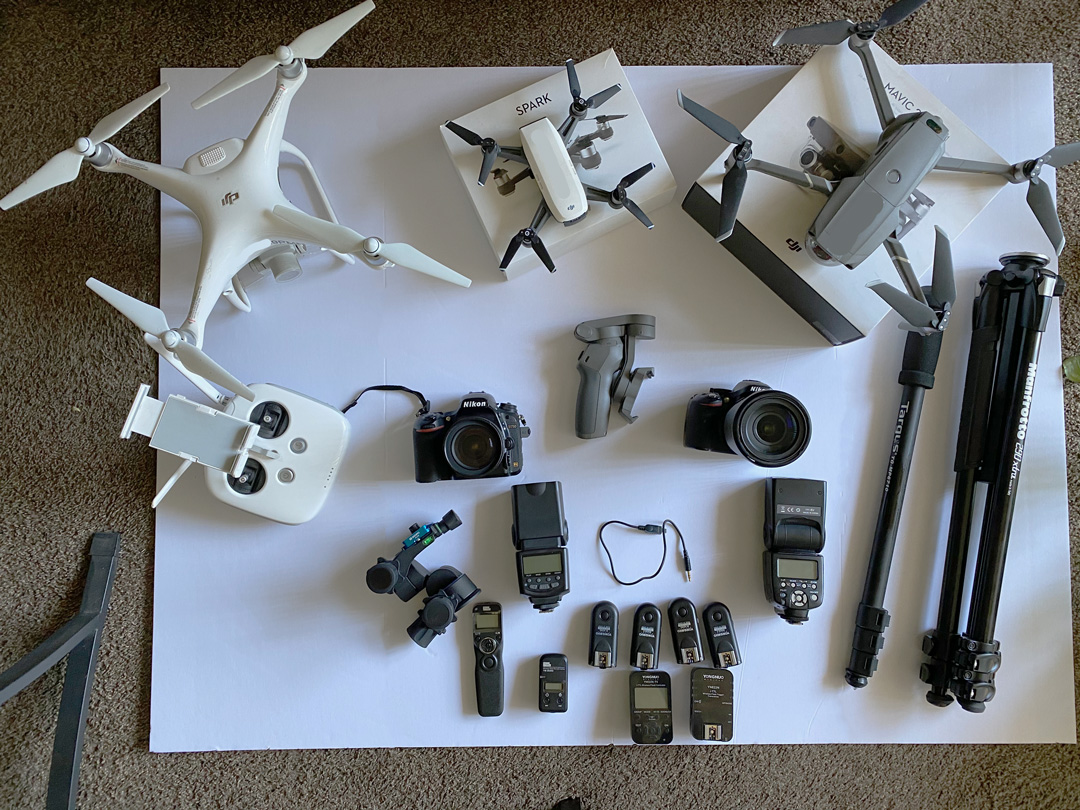 DJI Drones and Camera Equipment